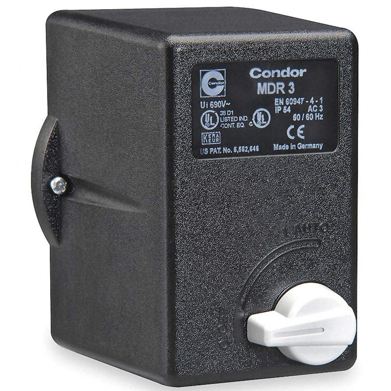 Presostat trifazat Condor MDR3 10A tip 840/2