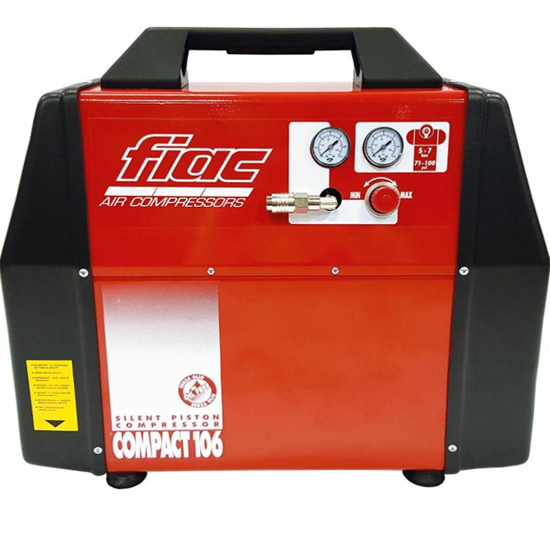 Compresor fara ulei, ultra-silentios, tip COMPACT 106