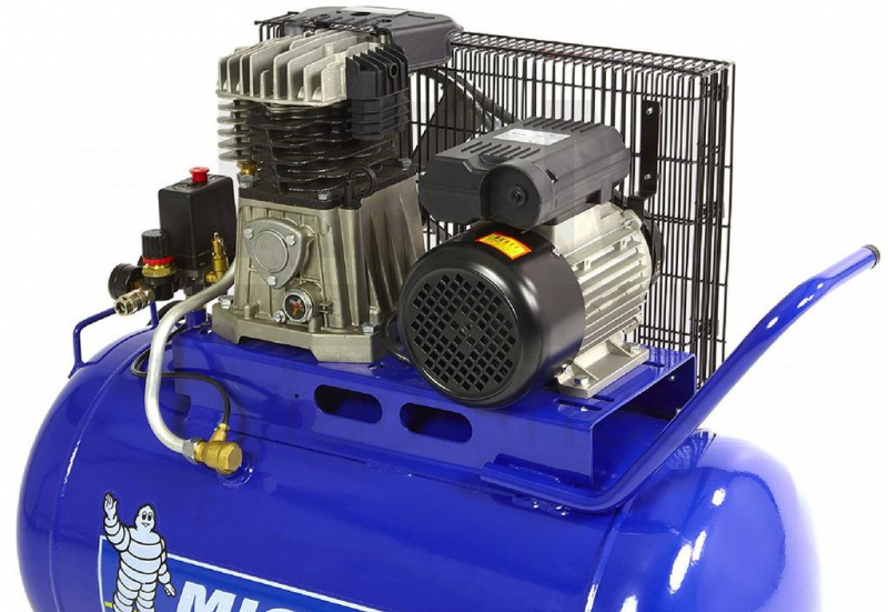 Compresor cu piston, profesional, MICHELIN MB100