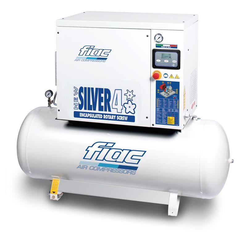 Compresor cu surub tip NEW SILVER 4/200, 10 bar