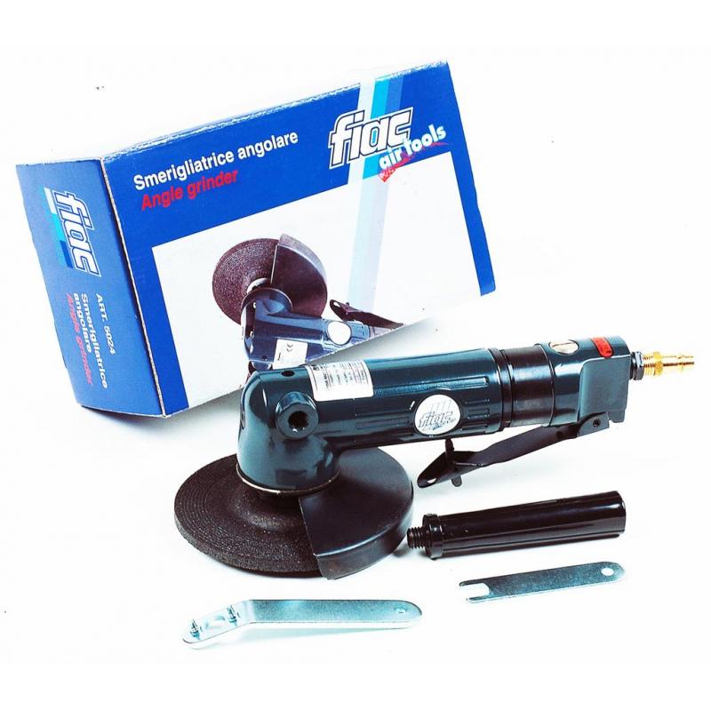 Polizor unghiular pneumatic FIAC 5024, 720 W, 6 bar, 170 l/min