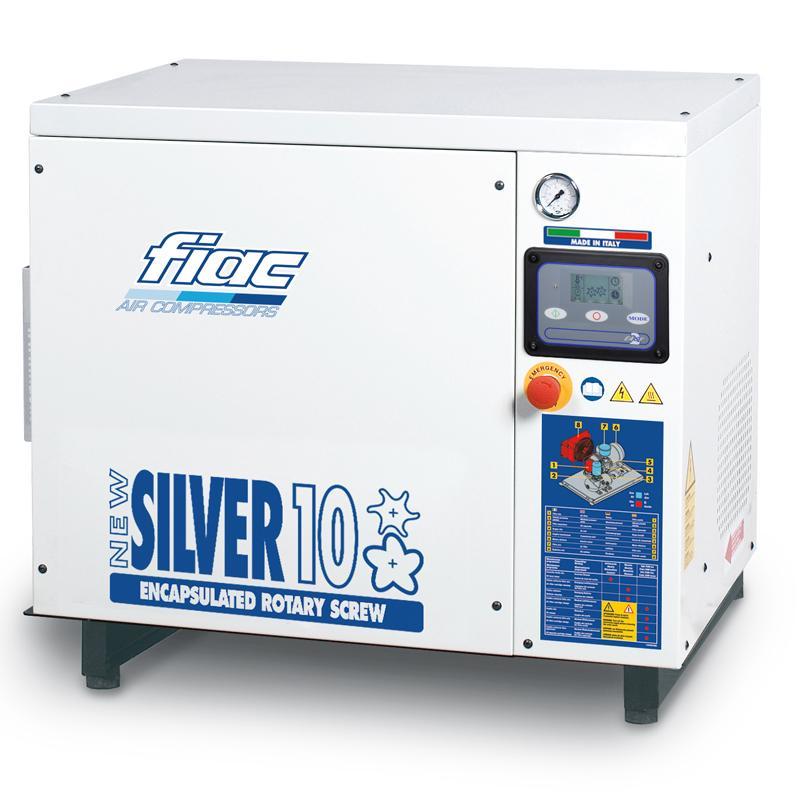 Compresor cu surub tip NEW SILVER 10S, 13 bar