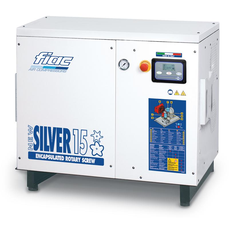 Compresor cu surub tip NEW SILVER 15, 8 bar