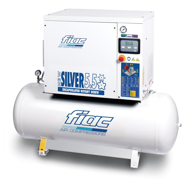 Compresor cu surub tip NEW SILVER 5,5/300, 13 bar