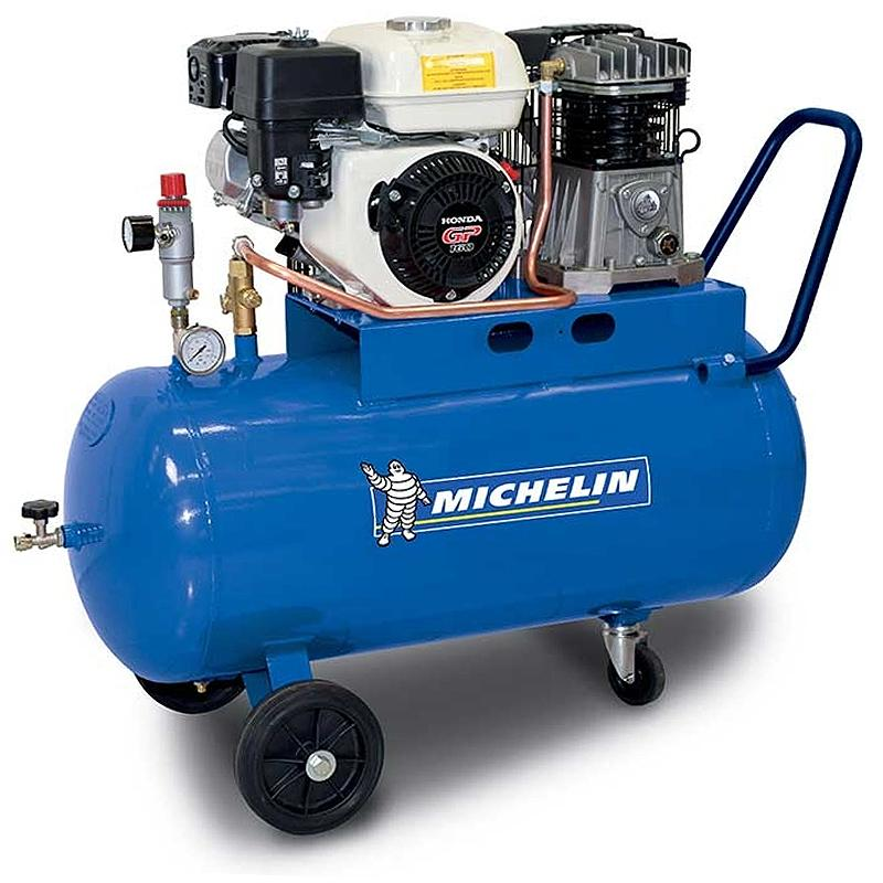 Compresor profesional MICHELIN, motor Honda, tip S100/360