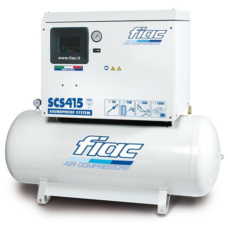 Compresor cu piston, insonorizat, tip SCS415/200