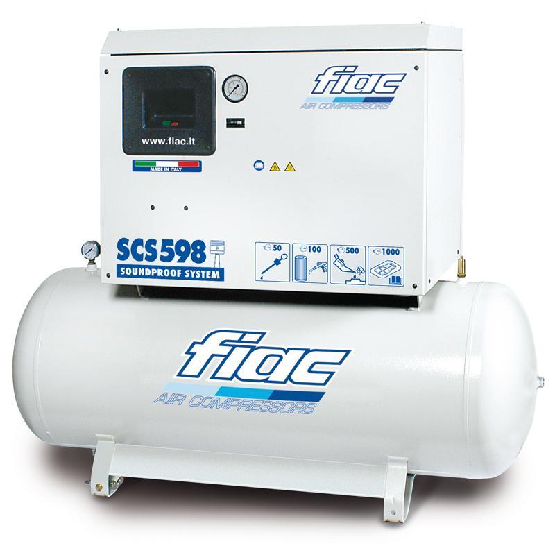 Compresor cu piston, insonorizat, tip SCS598/300