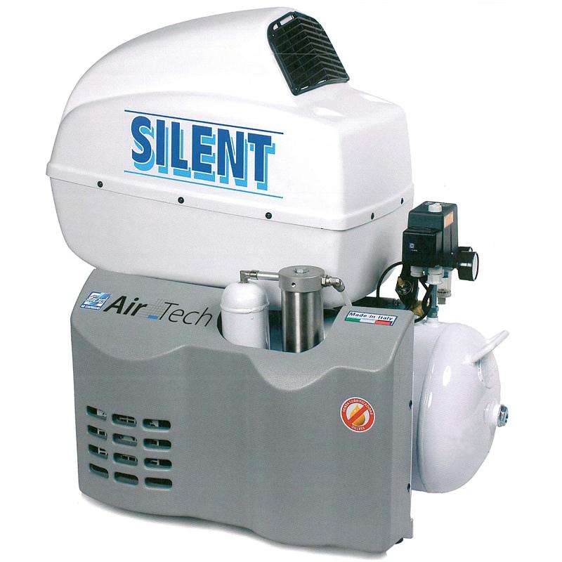 Compresor medical silentios cu uscator AIR TECH 50/254 ES-SILENT