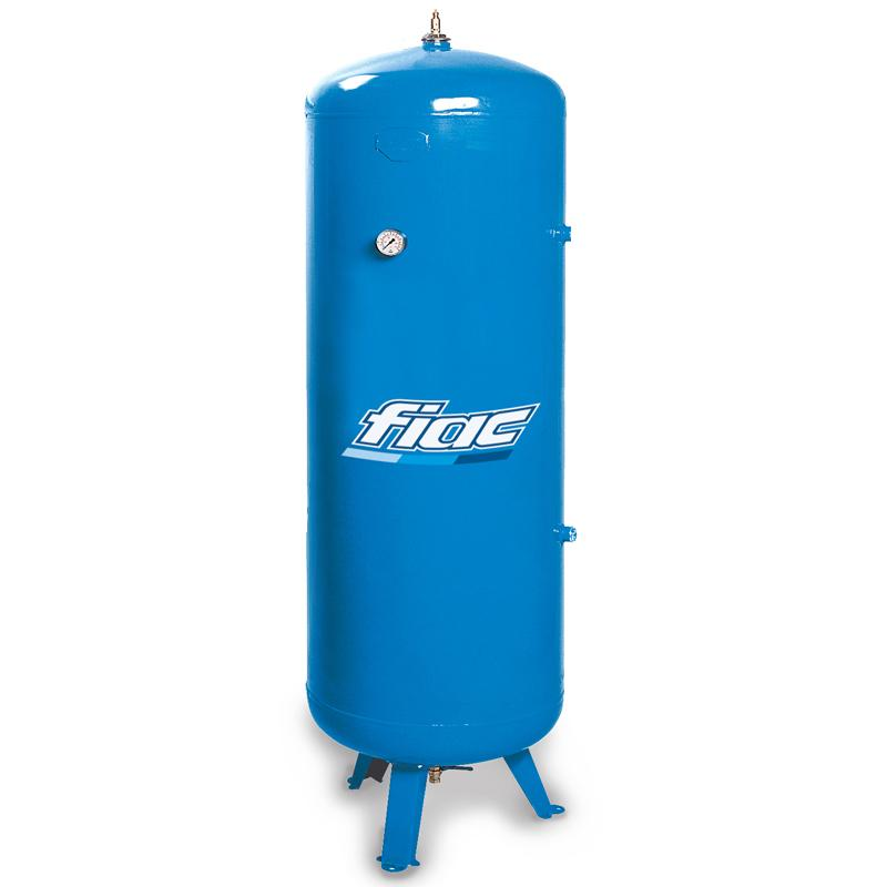 Rezervor de aer 5000 l, vertical, 12bar, vopsit, Made in Italy