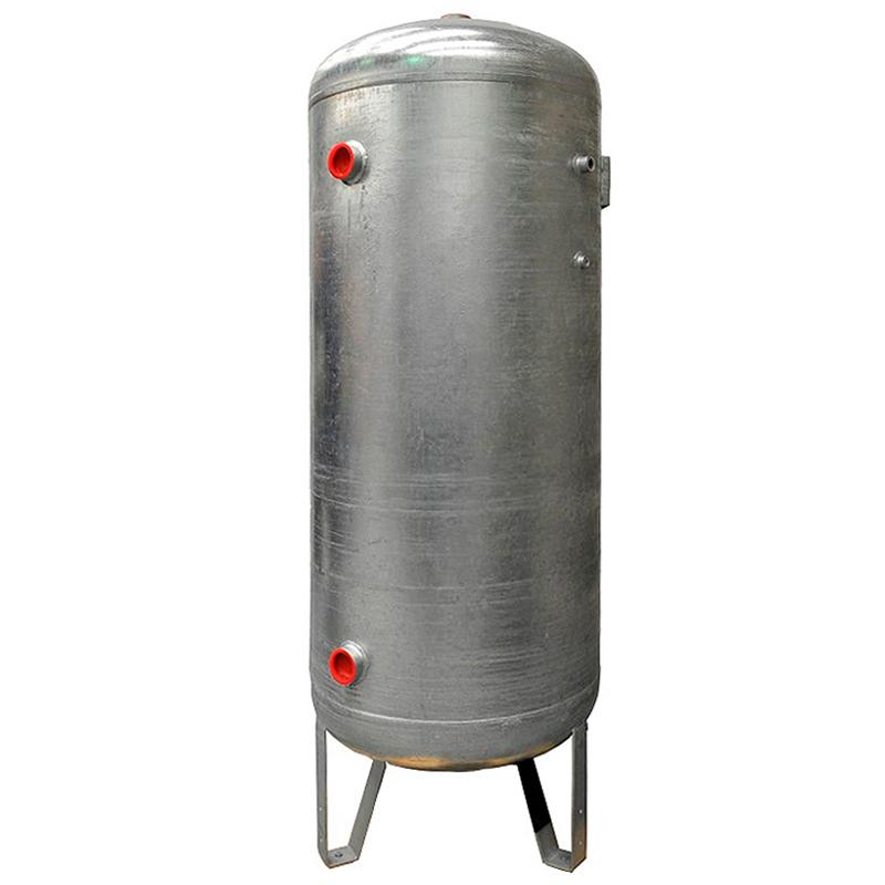 Rezervor de aer 4000 l, vertical, 12bar, zincat, Made in Italy