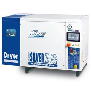 Compresor cu surub cu uscator tip NEW SILVER+D 7,5, 8 bar