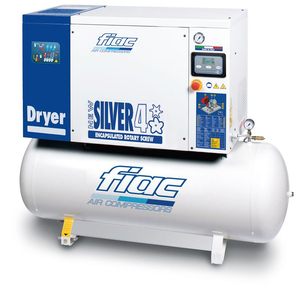 Compresor cu surub si uscator tip NEW SILVER D 4/300, 10 bar